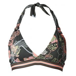 Costume da bagno a triangolo Moontide Kitsune - kaki/floreale